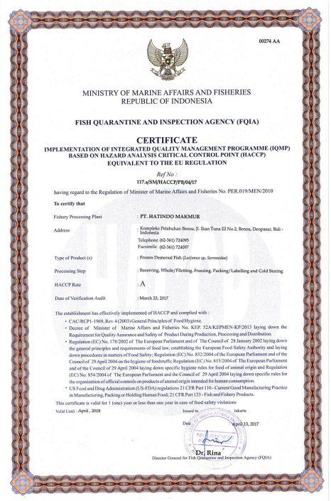 HACCP-Certificate-Demersal-Fish-1-PT-Hatindo-Makmur-Indonesia