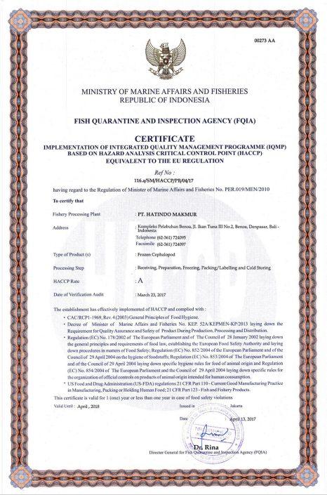 HACCP-Certificate-Cephalopod-1-PT-Hatindo-Makmur-Indonesia