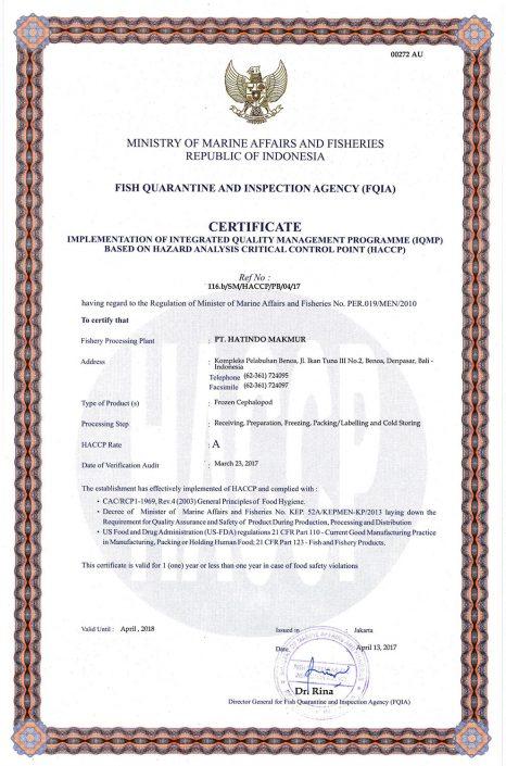 HACCP-Certificate-Cephalopod-2-PT-Hatindo-Makmur-Indonesia