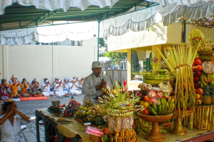 Hatindo Bali Pray Odalan at Manufactory