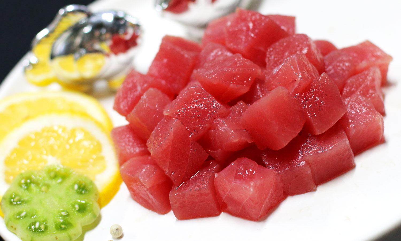 Yellowfin Tuna Cube