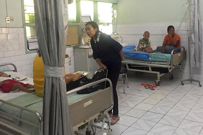 Visiting Cancer Children at Sanglah Hospital Denpasar Bali