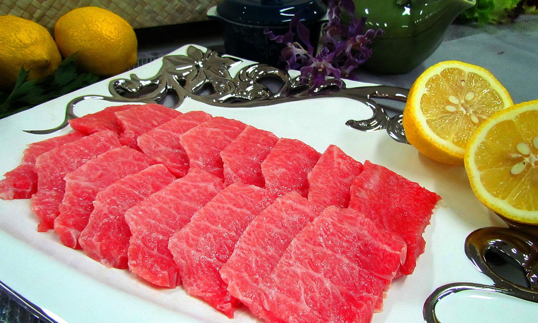 Blue fin Tuna Otoro Slice Pelagic Exporter Bali Indonesia