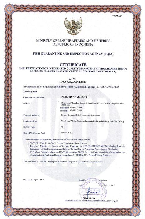 HACCP-Certificate-Demersal-Fish-2-PT-Hatindo-Makmur-Indonesia