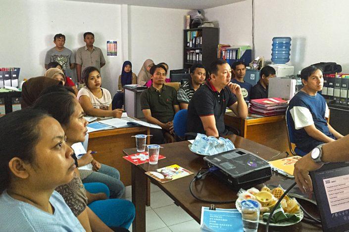 Hatindo Makmur Training HACCP Internal